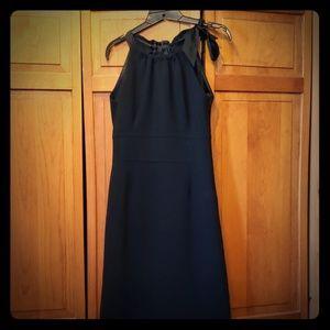 Ann Taylor 6 Petite Black Dress